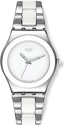 Swatch Women's Irony YLS141GC Stainless-Steel Swiss Quartz Watch