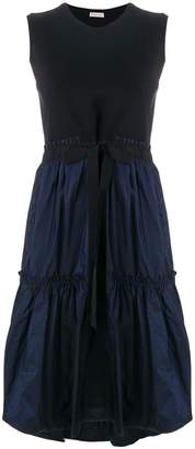 Moncler tiered hem sleeveless dress