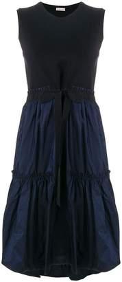 Moncler tiered hem sleeveless dress