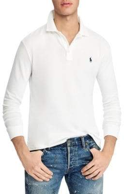 Polo Ralph Lauren Terry Long-Sleeve Polo