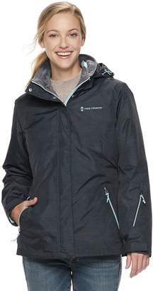 Free Country Women's Hooded 3-in-1 Systems Jacket