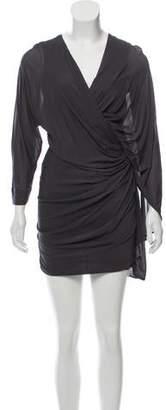 Yigal Azrouel Asymmetrical Mini Dress