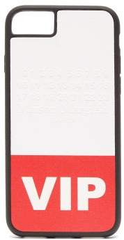 Maison Margiela Vip Printed Iphone 8 Phone Case - Womens - Red White