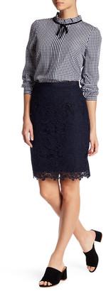 Joe Fresh Lace Skirt $49 thestylecure.com
