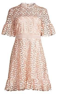 Shoshanna Women's Sora Lace Eyelet A-Line Dress - Size 0