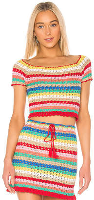 Wildfox Couture Vibrant Glow Stassi Top