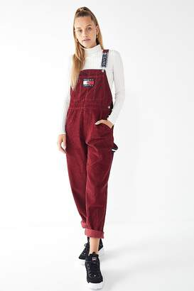 Tommy Jeans Corduroy Dungaree Overall