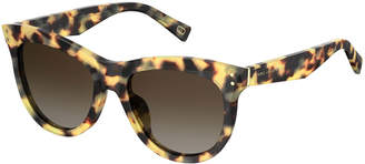 Marc Jacobs Faceted Butterfly Sunglasses