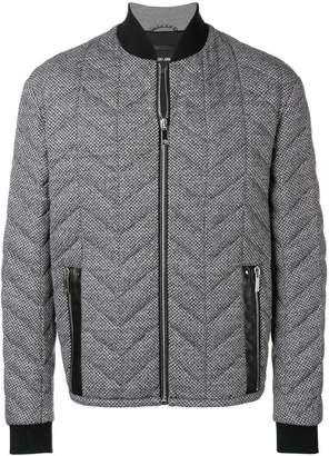 Giorgio Armani chevron quilted jacket