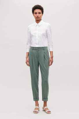 Cos DRAPE PLEATED TROUSERS