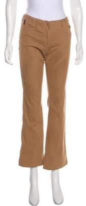 Armani Jeans Mid-Rise Wide-Leg Pants