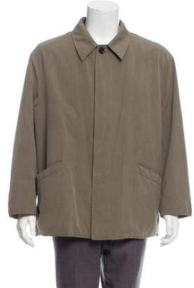 Luciano Barbera Woven Button-Up Jacket