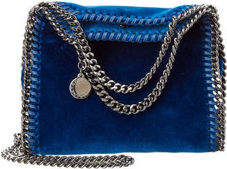 Stella McCartney Tiny Falabella Velvet Tote