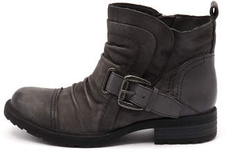 Earth Jericho-ea Dark grey Boots Womens Shoes Casual Ankle Boots