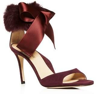 MARION PARKE Women's Lucille Suede & Fur High-Heel Sandals