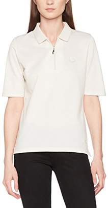 Hajo Women's D 1/2 Arm Zweitonoptik Polo Shirt