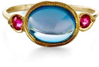 Ila London Blue Topaz Ring