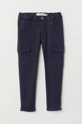 H&M Cargo Pants - Blue