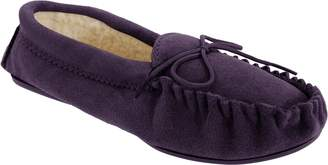 Mokkers Womens/Ladies Angie Moccasin Real Suede Slippers