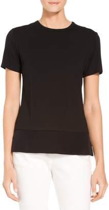 St. John Soft Wash Viscose Jersey T-Shirt