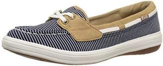 Keds Women's Glimmer Nautical Stripe Fashion Sneaker $45.20 thestylecure.com