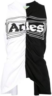 Aries ロゴ タンクトップ