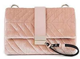 HUGO BOSS Shoulder bag in Italian velvet
