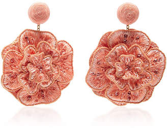Rebecca de Ravenel Flora Earrings $525 thestylecure.com
