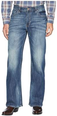 Rock and Roll Cowboy Reflex Cannon Denim with Embroidery in Dark Vintage M0C6618 Men's Jeans