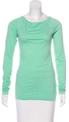 Theory Fitted Long Sleeve Top