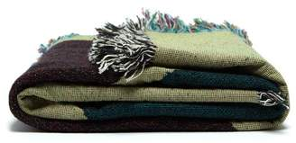 Viso Project - Tapestry Fringe Trimmed Cotton Blanket - Multi
