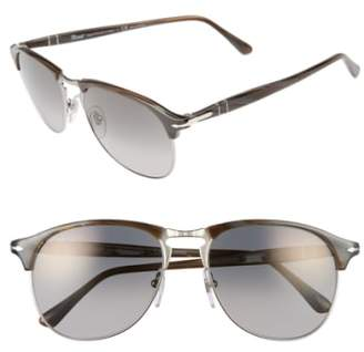 Persol 56mm Keyhole Sunglasses