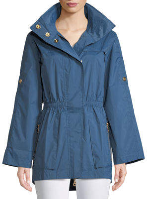 Raison D'etre Rolled-Sleeve Anorak Jacket