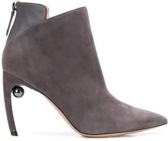 Nicholas Kirkwood 90mm Mira Pearl ankle boots