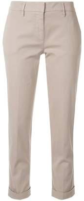 de7afa39590a Slim-fit Stretch Cropped Trousers - ShopStyle UK