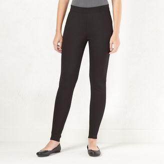 Women's LC Lauren Conrad Knit Leggings $44 thestylecure.com