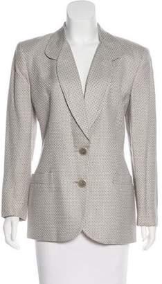 Christian Dior Structured Woven Blazer