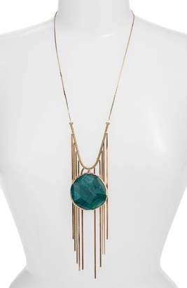 Serefina Agate Pendant Necklace