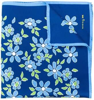 Kiton floral scarf