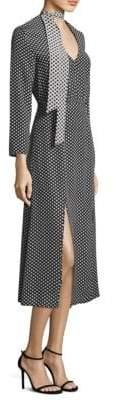 Rixo Stella Silk Maxi Dress