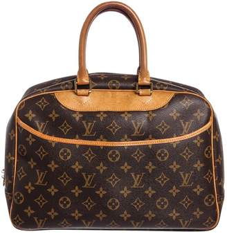 Louis Vuitton Deauville leather satchel