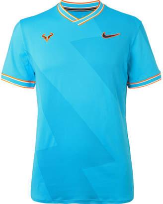 Nike Tennis - Nikecourt Rafa Aeroreact T-shirt - Blue