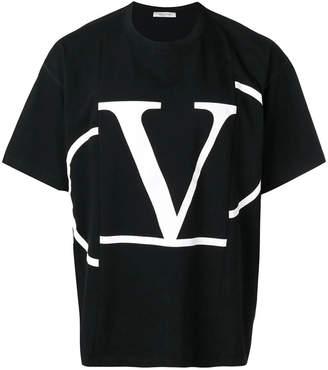 Valentino logo t-shirt black