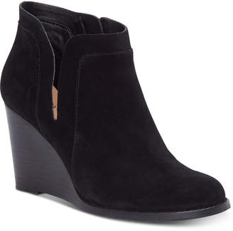 Lucky Brand Women Yabba Wedge Booties Women Shoes