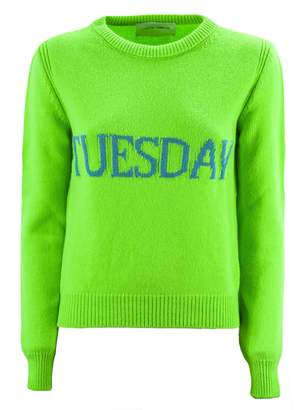 Alberta Ferretti tuesday Green Pullover