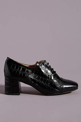 Anthropologie Sloane Oxford Loafer Heels