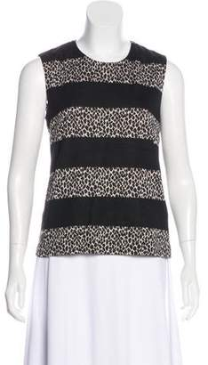 Max Mara Sleeveless Printed Top