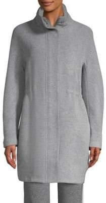 Peserico Wool Zip-Front Jacket