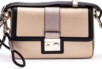 Trussardi With Love Faux Leather Shoulder Bag
