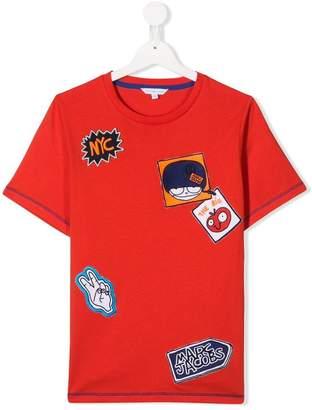 Little Marc Jacobs TEEN patch detailed T-shirt